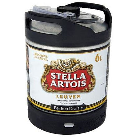 Stella Artois 5,2% 6L Keg For Perfect Draft