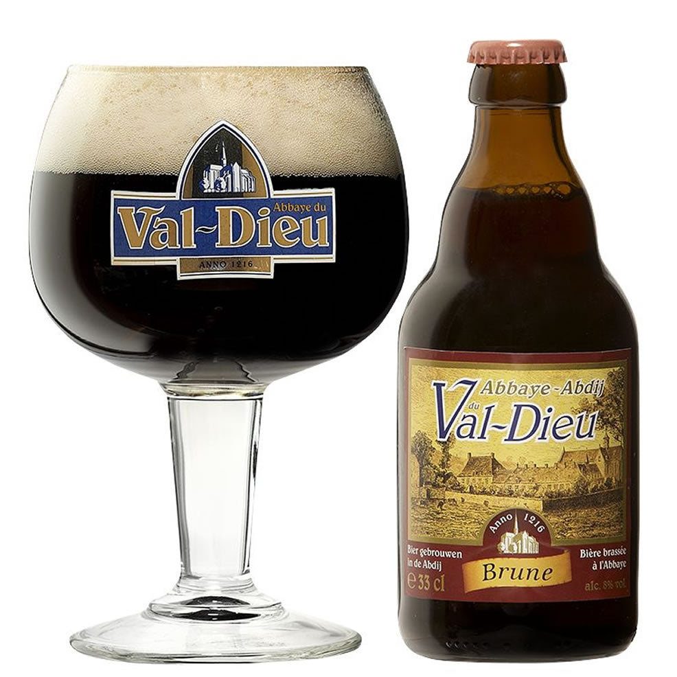 Val-Dieu Brown 8% 330ml