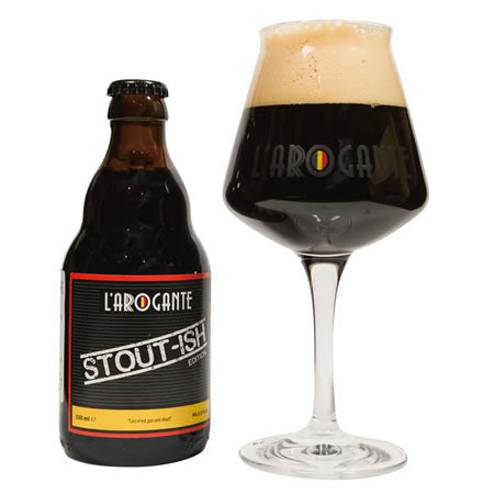 L'Arogante Stout-Ish 5,5% 330ml