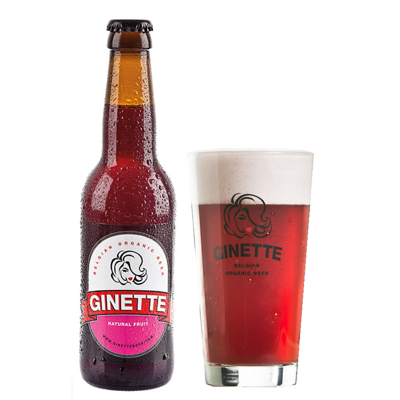 Ginette Natural Fruit 4% 330ml