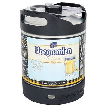 Hoegaarden White Beer 4,9% 6L Keg For Perfect Draft