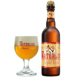 Waterloo Triple Blond 8% 750ml
