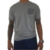 Twin Jitsu Grey T-Shirt Front