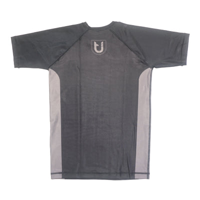 Twin Jitsu Short Sleeve Rashguard Back