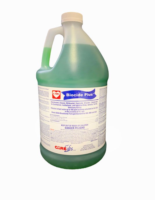 Biocide Plus Disinfectant, Cleaner, & Deodorizer, One Case (4-1 Gallons Per Case)