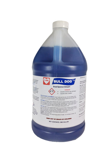 Bull Dog Degreaser / Heavy Duty Cleaner, 4-1 gallons/case