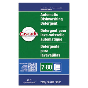 Cascade Automatic Dishwasher Powder, Fresh Scent, 75 oz Box