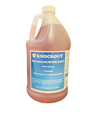 Knockout Concentrated Deodorizer, Cherry or Fresh Scent, 4-1 Gallons/Case