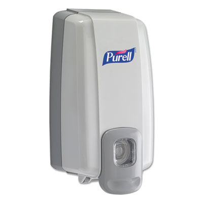Purell NXT SPACE SAVER Dispenser, 5 1/8 x 4 x 10, 1000mL, White/Gray