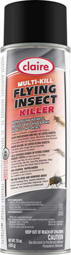 Claire Multi-Kill Flying Insect Killer, 12-20 oz. cans/case