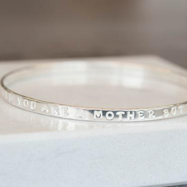 7 Occasions A Personalised Silver Bangle Makes The Perfect Gift For A Mum