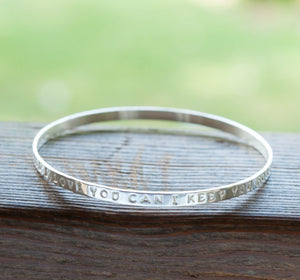 The Secret To Keeping Your Personalised Silver Bangles Looking Brand New