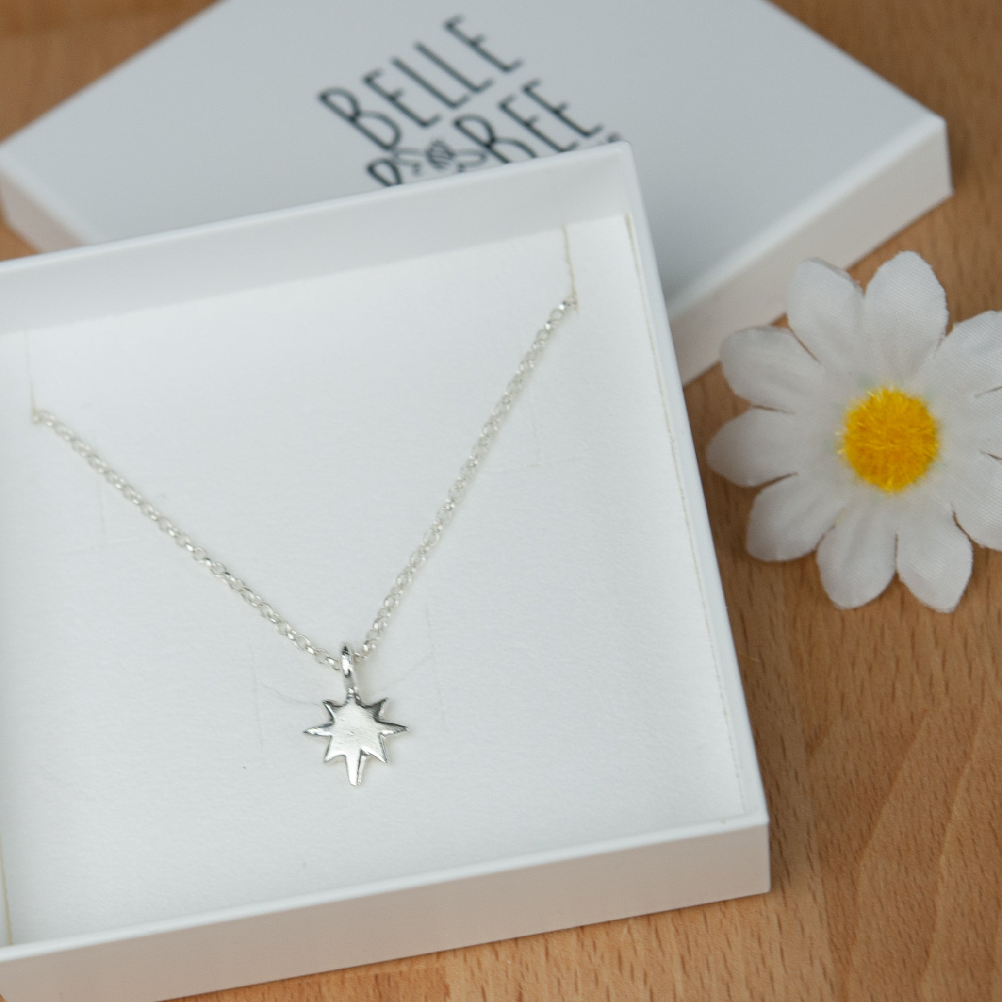 Belle & Bee Baby North Star necklace