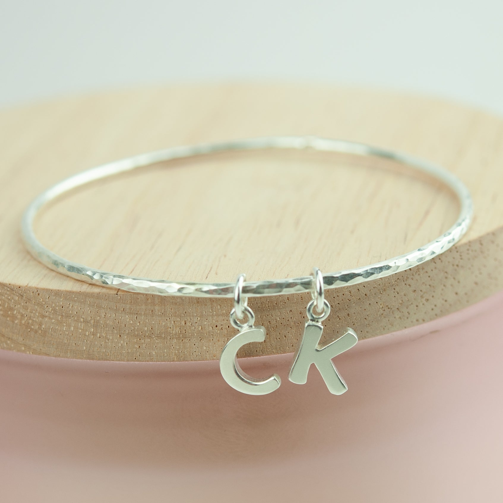 Belle & Bee alphabet bangle