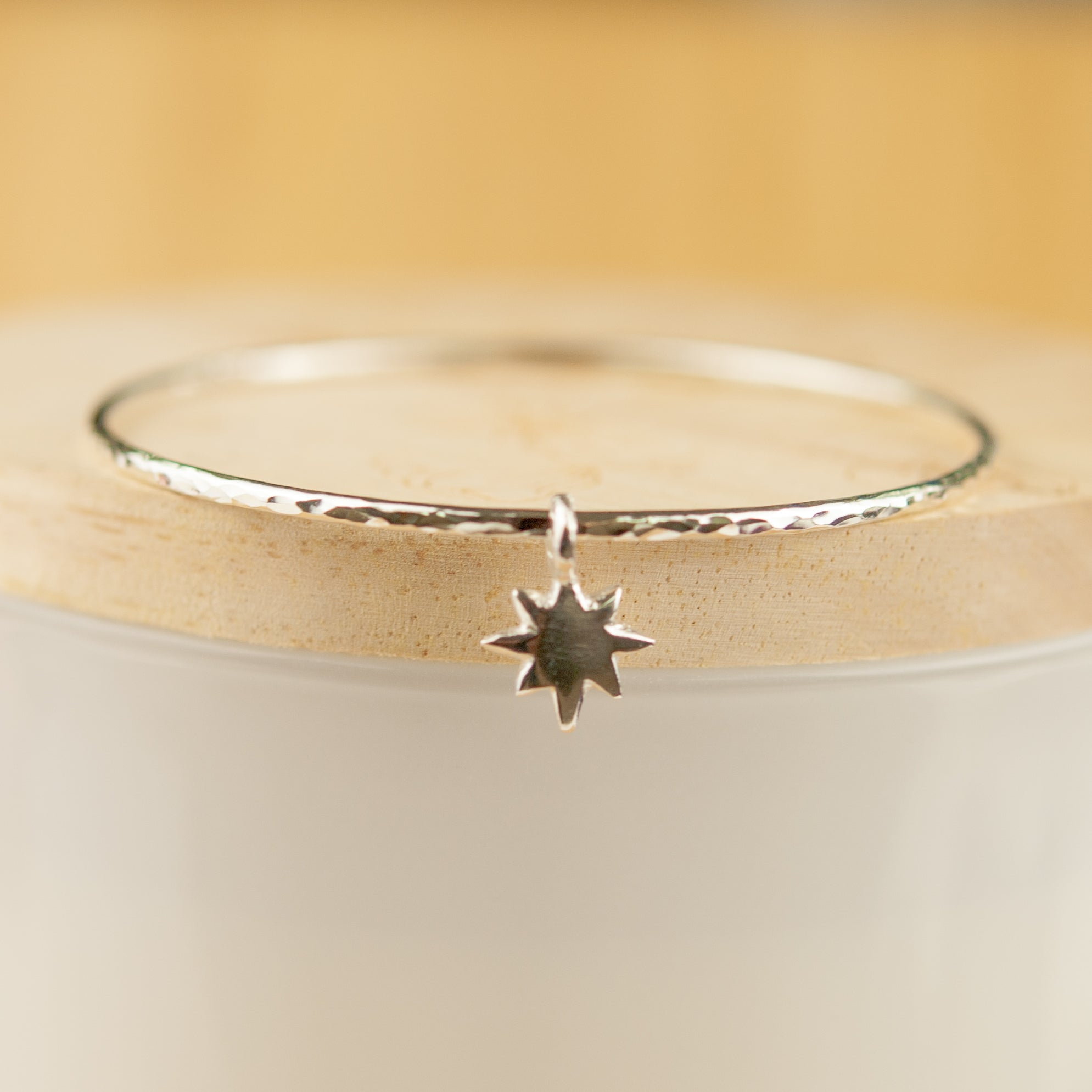 Belle & Bee baby north star bangle