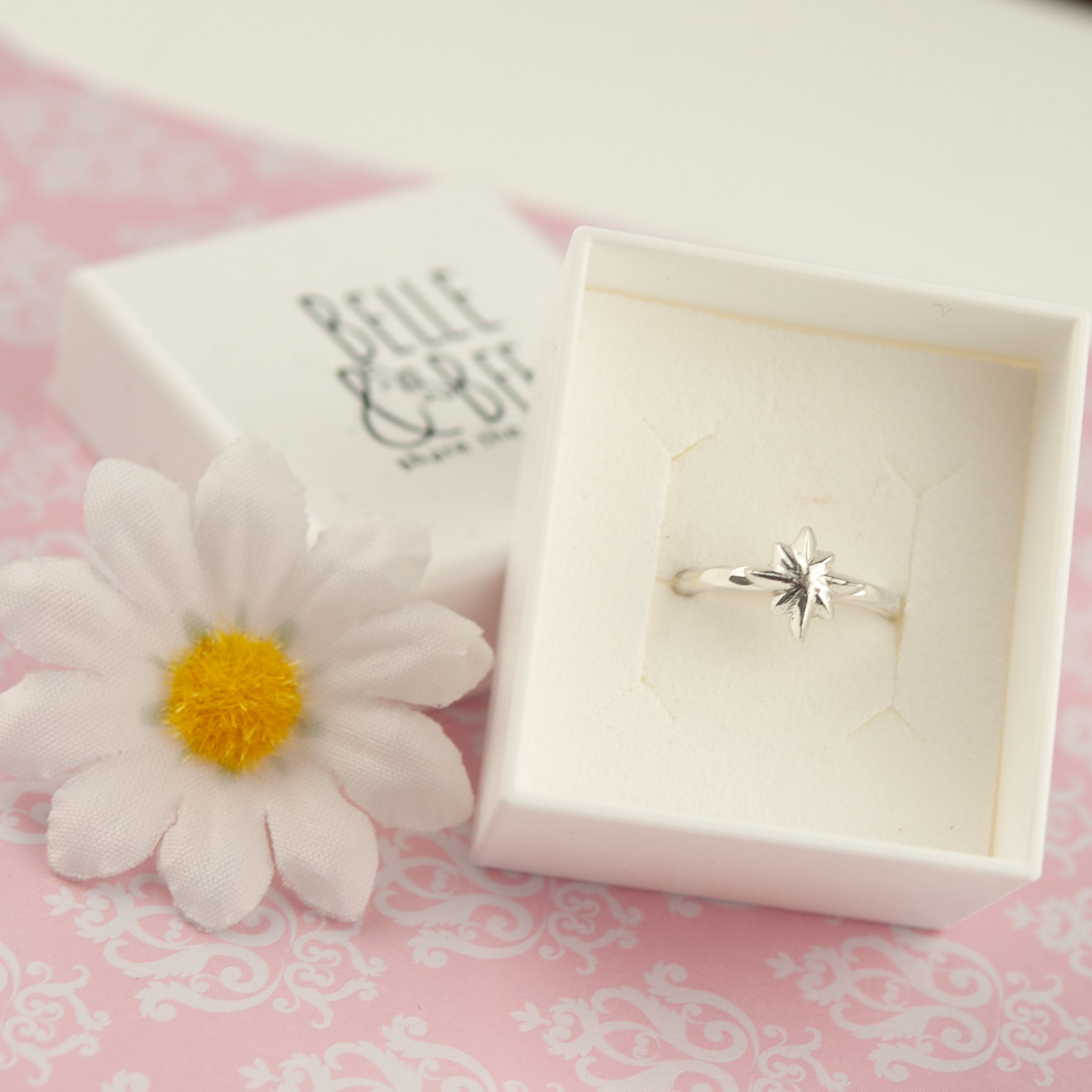 Belle & Bee Baby North Star ring