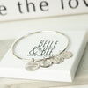 Belle & Bee Sterling silver belongs to .... bangle