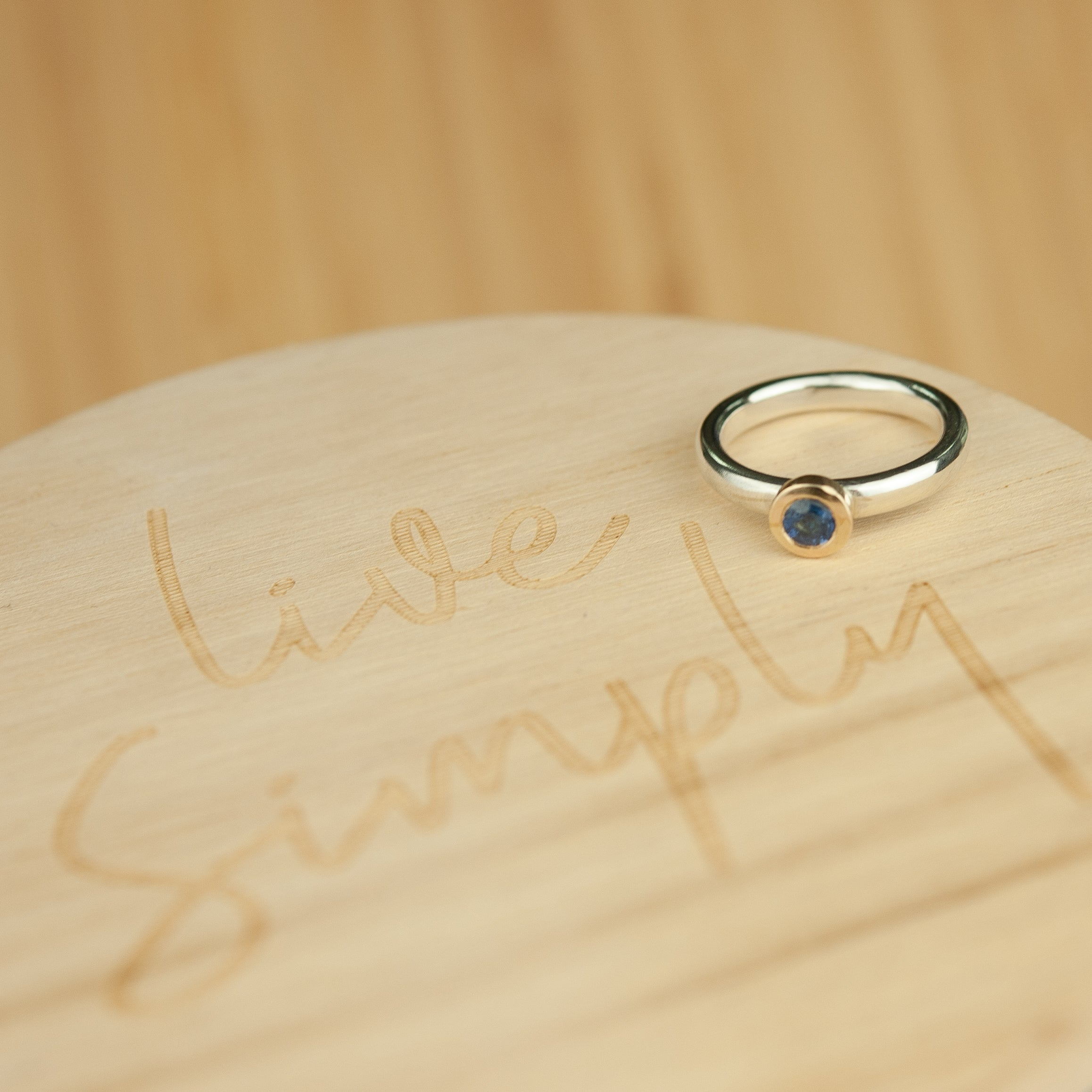 Belle & Bee Sapphire ring