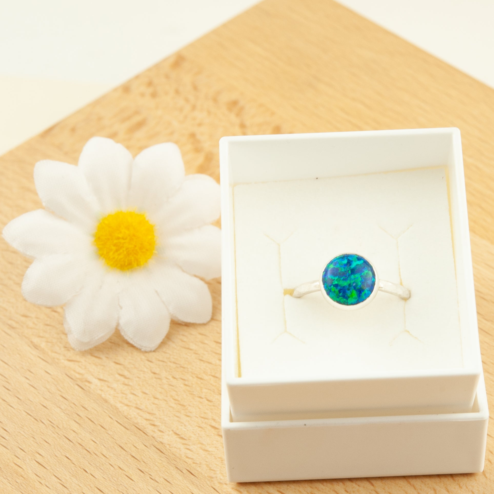 Belle & Bee opal ring
