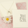 Belle & Bee moon necklace