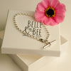 Belle & Bee Sterling Silver T-Bar bracelet
