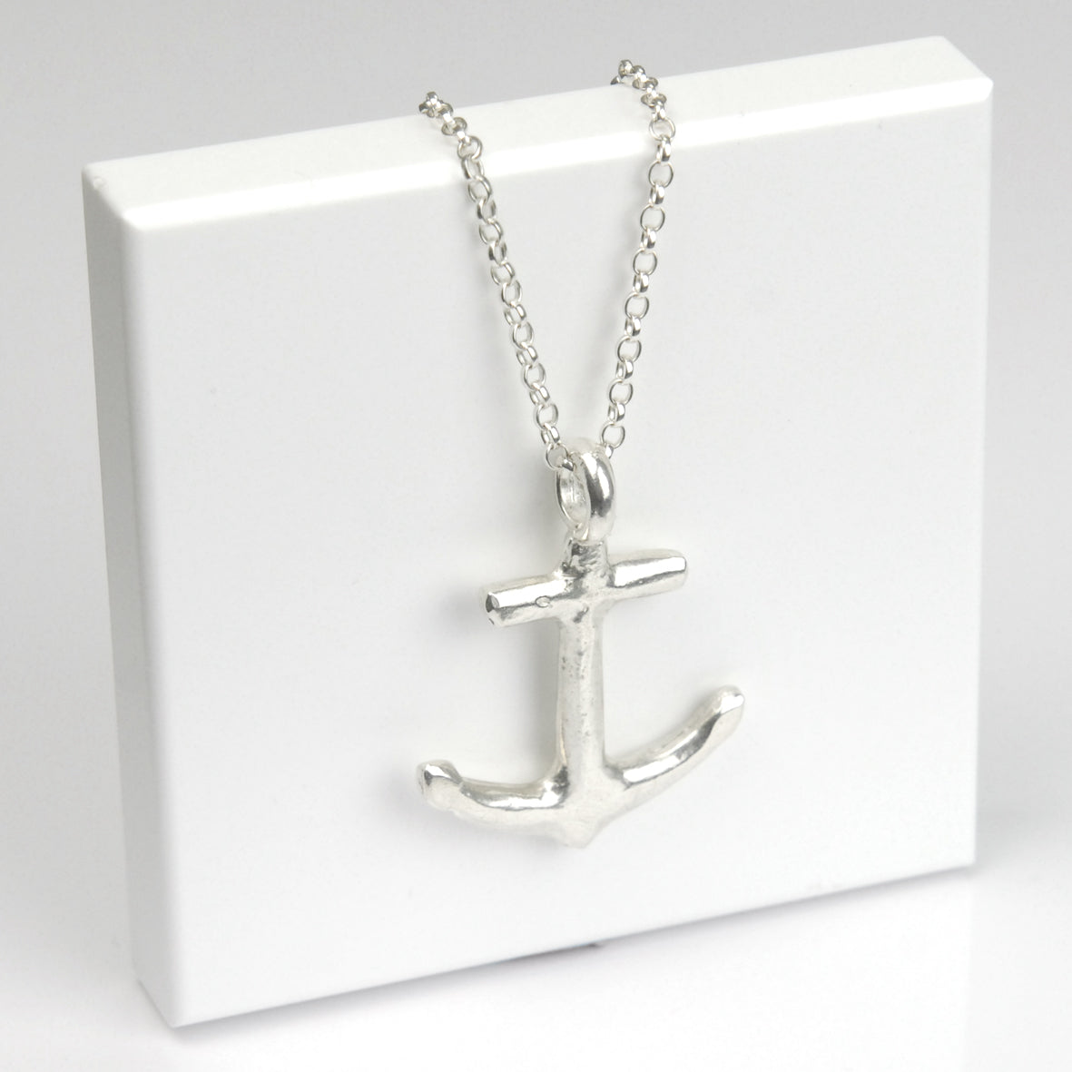 Belcher Chain with Large Chunky Anchor Charm