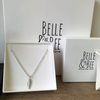 Belle& Bee Sterling silver ankle bracelet