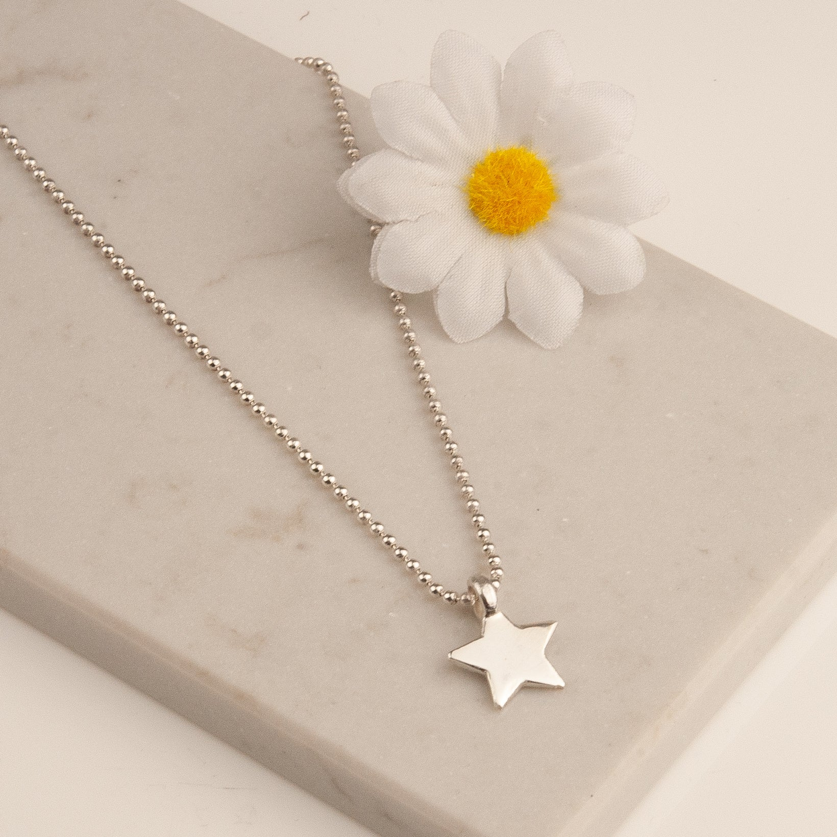 Belle & Bee star necklace
