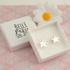 Belle & Bee Chunky star earrings