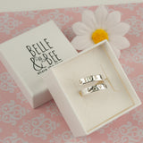 Belle & Bee Personalised Wrap Ring
