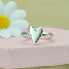 Belle & Bee chunky heart ring