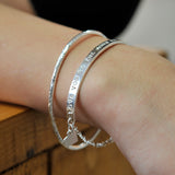 Belle & Bee Personalised Sterling Silver Bar Bracelet