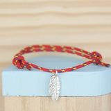 Feather Sailing rope bracelet