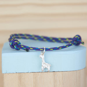 Sailing Rope Bracelet with Mini Charm