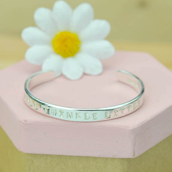 Baby Personalised  Cuff
