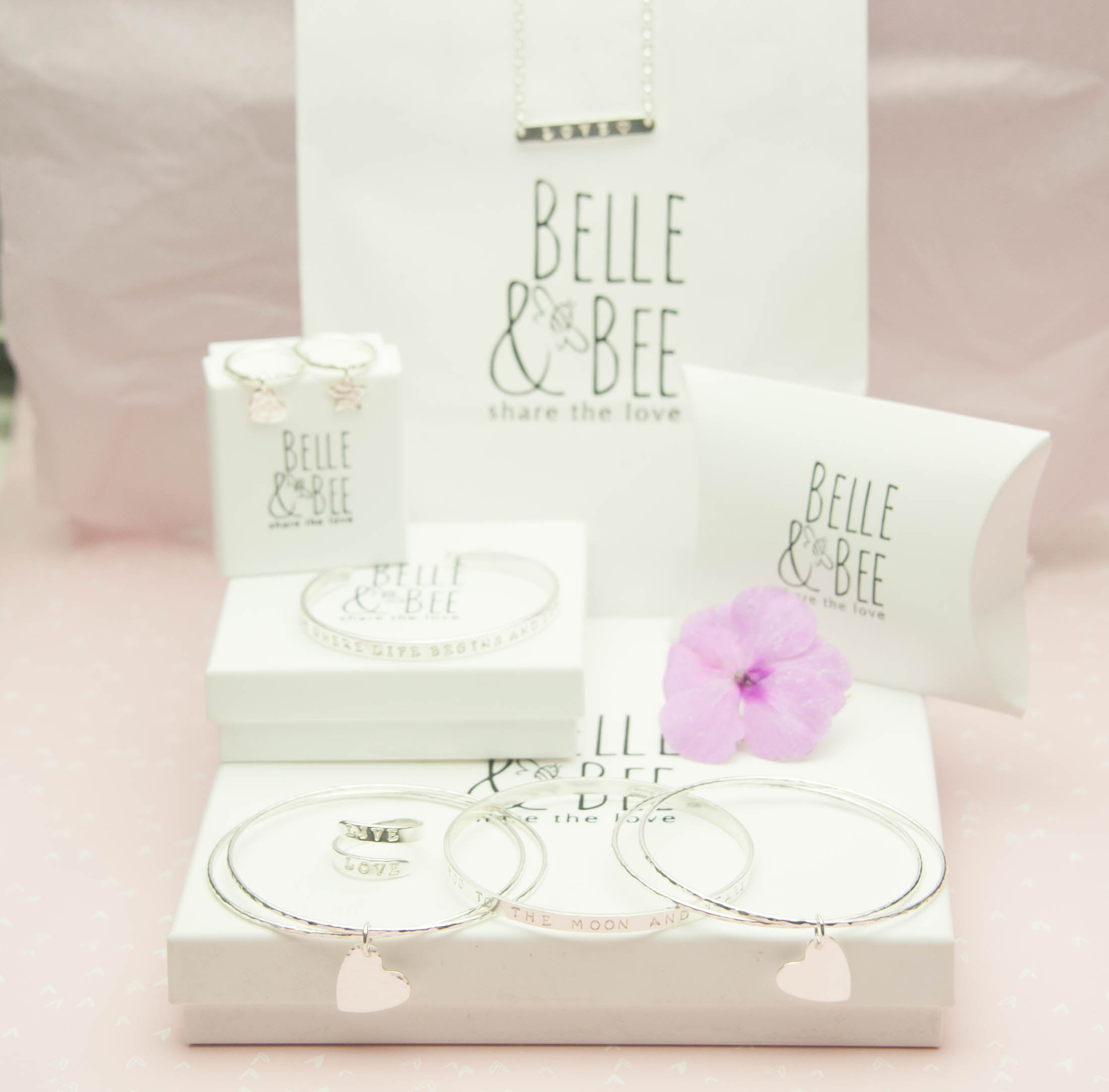 Belle & Bee packaging