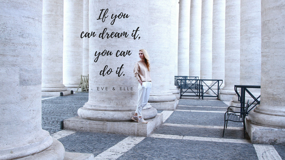 FREE Motivational Wallpaper Desktop - If You Can Dream It, You Can Live It - Eve&Elle