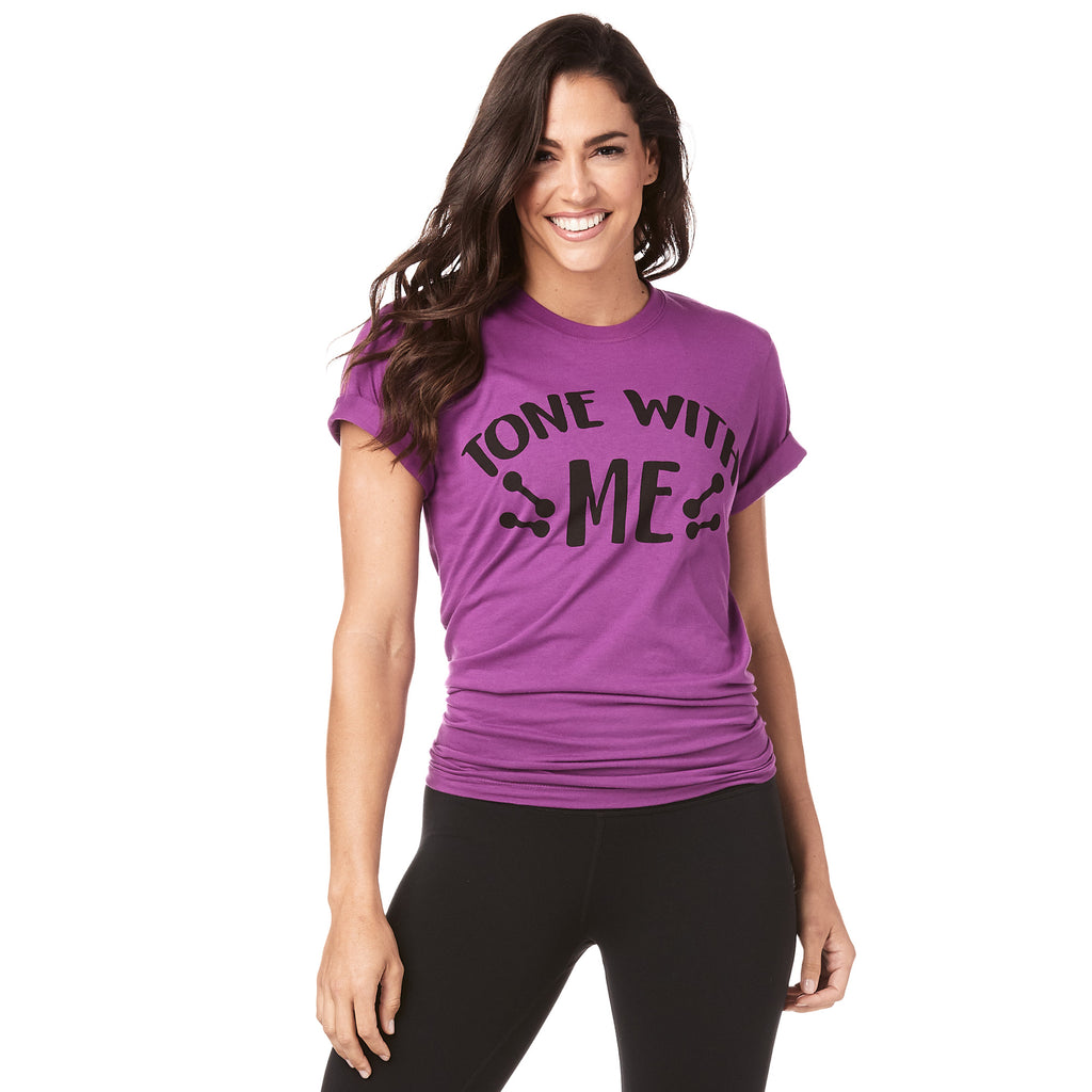 Tone With Me Zumba Toning Instructor Tee