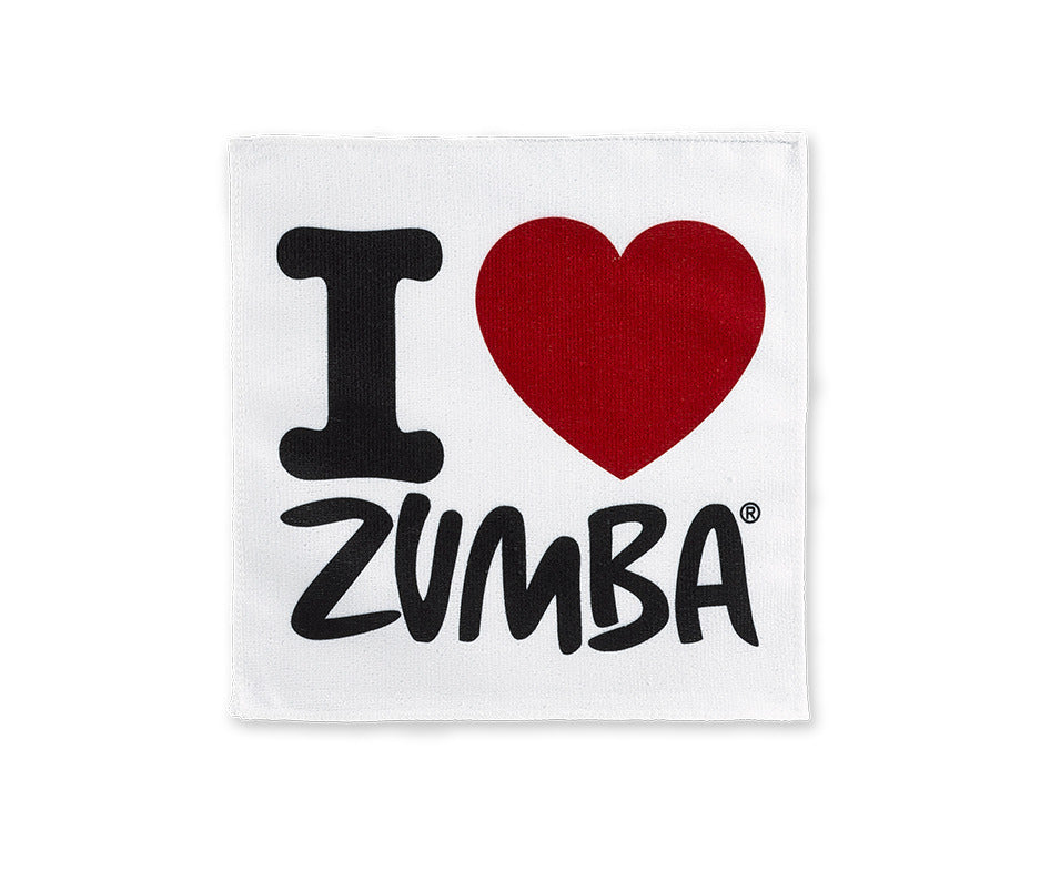 I Love Zumba Hand Towels 50 PK