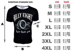 Billy Eight Holy Hell Rod T Shirt