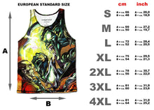 Comic Monster Green Goblin Tank Top