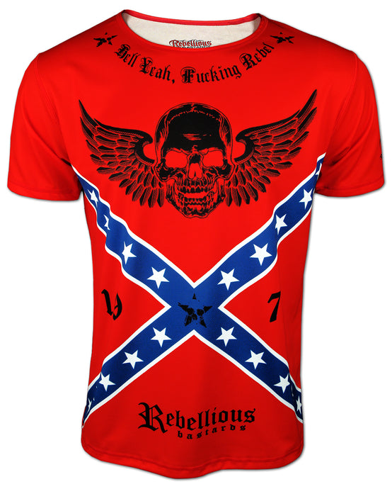 REBELLIOUS BASTARDS - Southern States T-Shirt