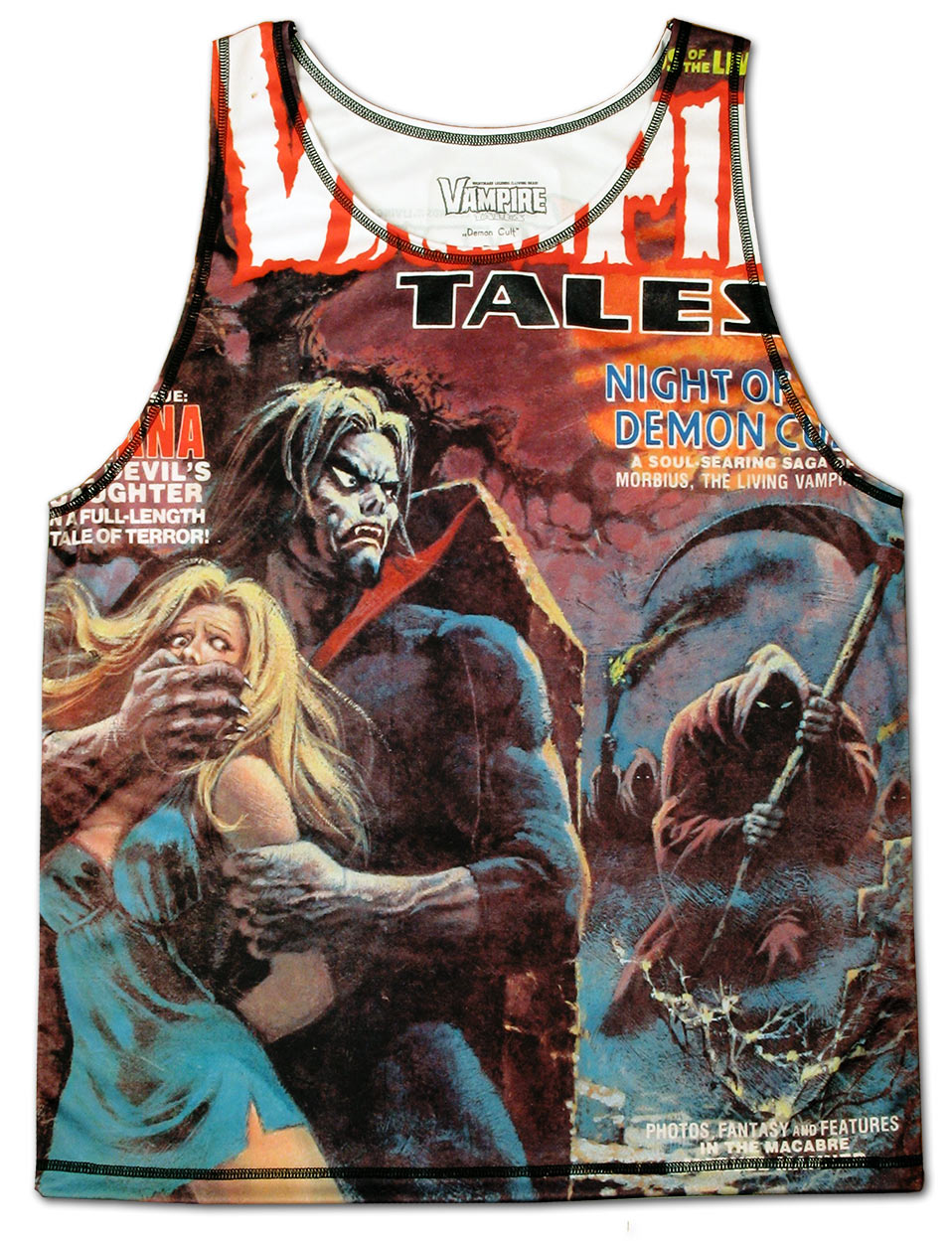 Demon Cult Tank Top