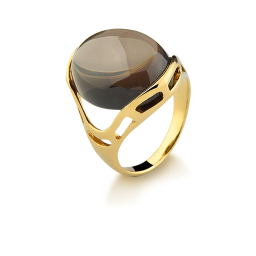 Para Statement Ring in Dusty Obsidian