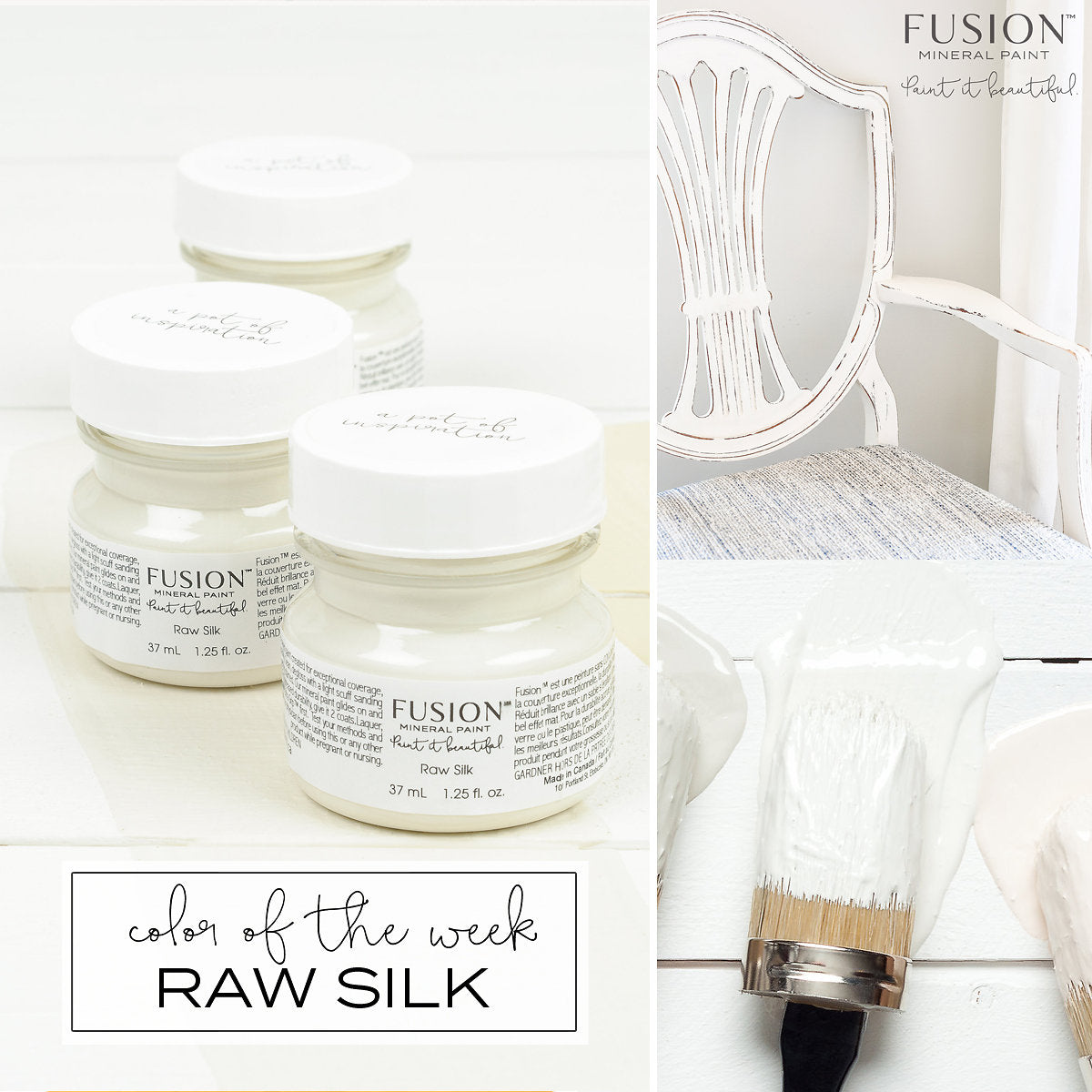 Raw Silk FUSION Mineral Paint