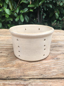 French Antique Ceramic Cheese Mould Large
