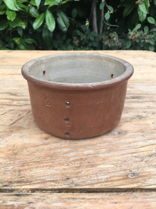 French Antique Ceramic Cheese Mould