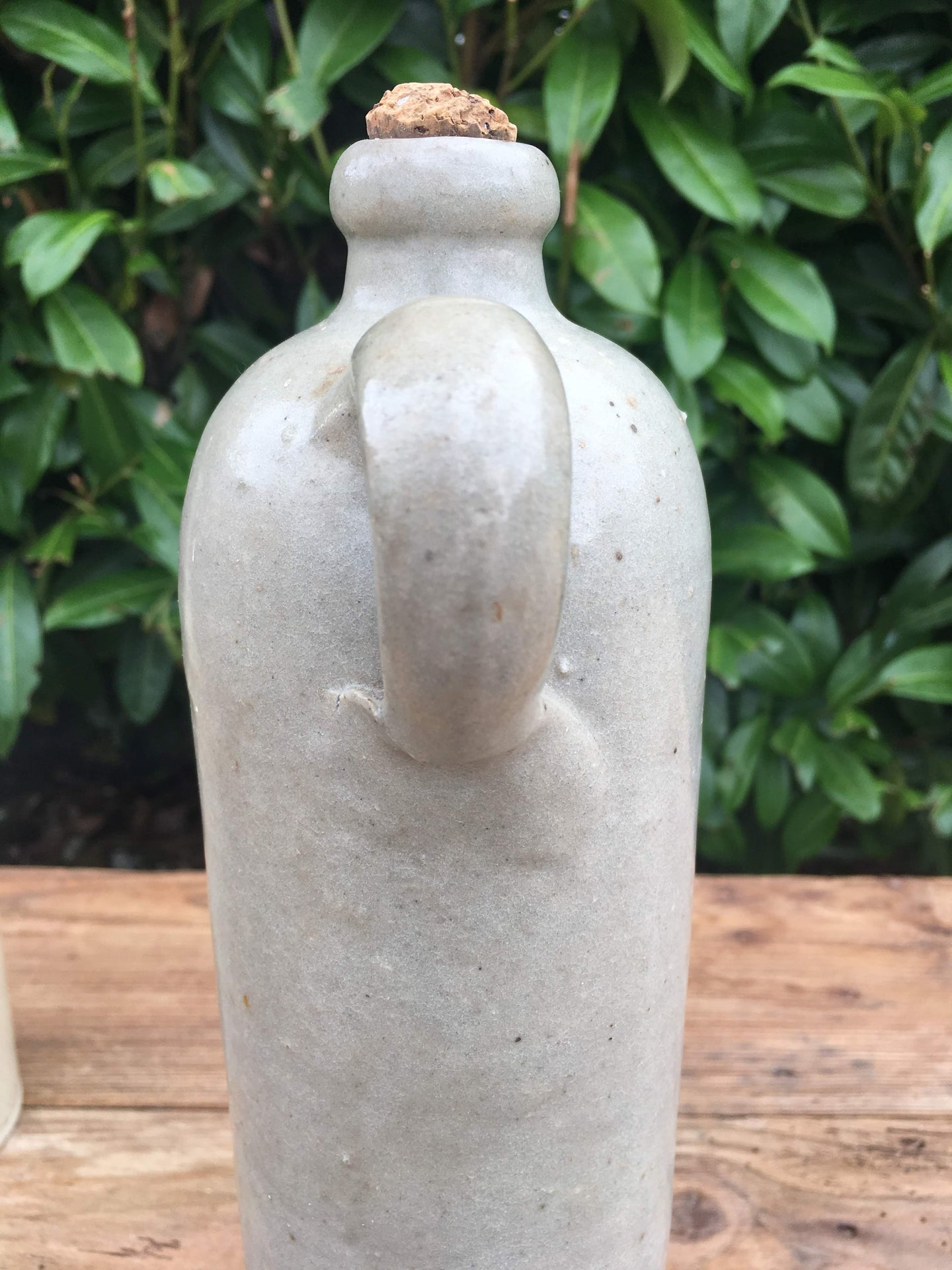 Lovely French Antique Stoneware Bottle