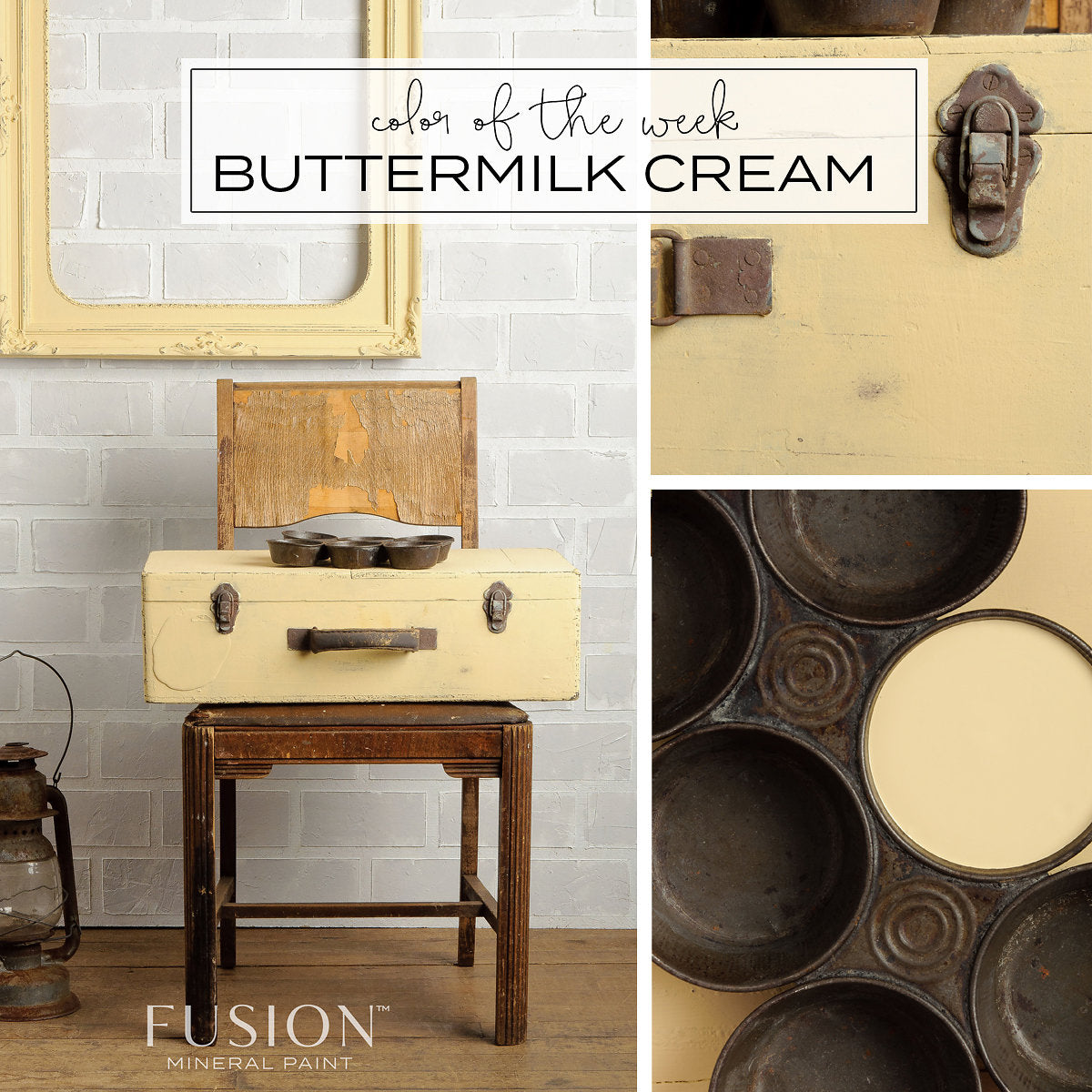 Buttermilk Cream FUSION Mineral Paint