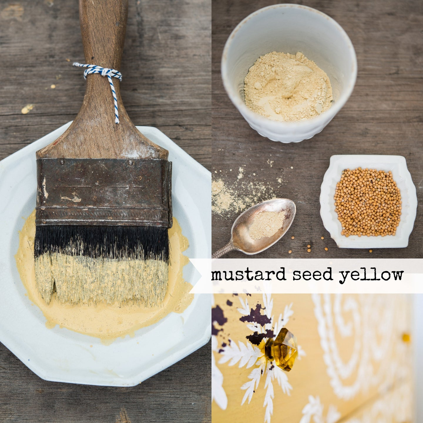 Mustard Seed Yellow - Miss Mustard Seed Milk Paint 230g